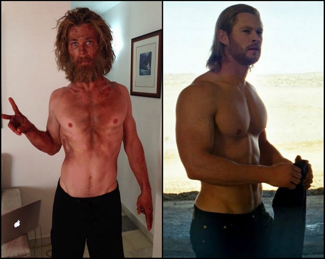"Chris Hemsworth in ""Thor"