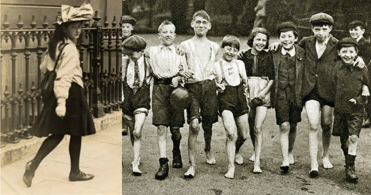 young people in england 100 years ago