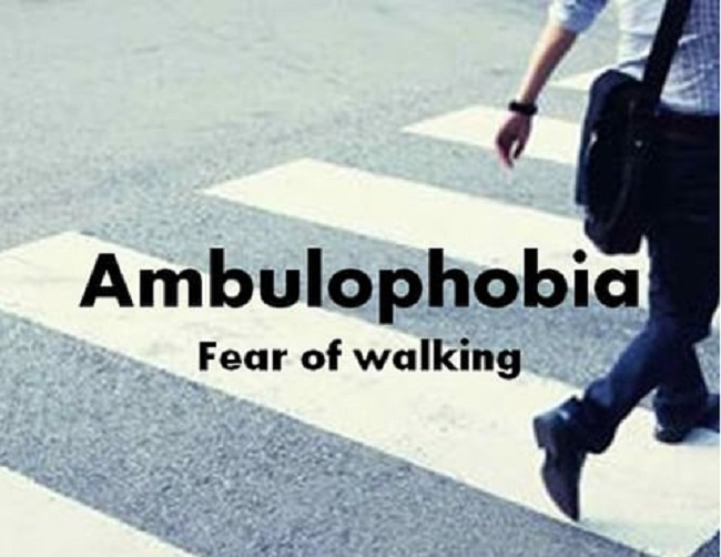 Ambulophobia the fear of walking