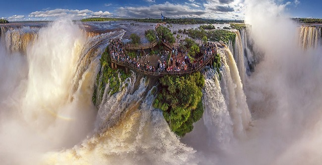 Iguazu Falls from Birds eye view