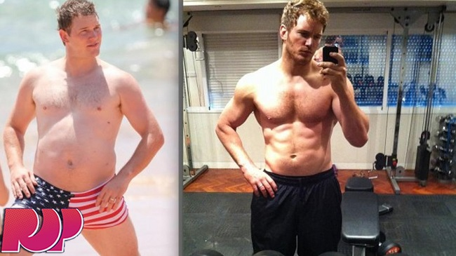 Chris Pratt Body Transformation