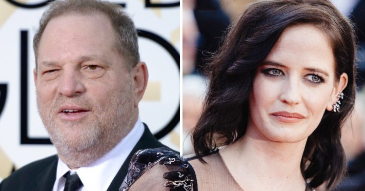 Eva Green the French actor too was a victim of Harvey Weinstein