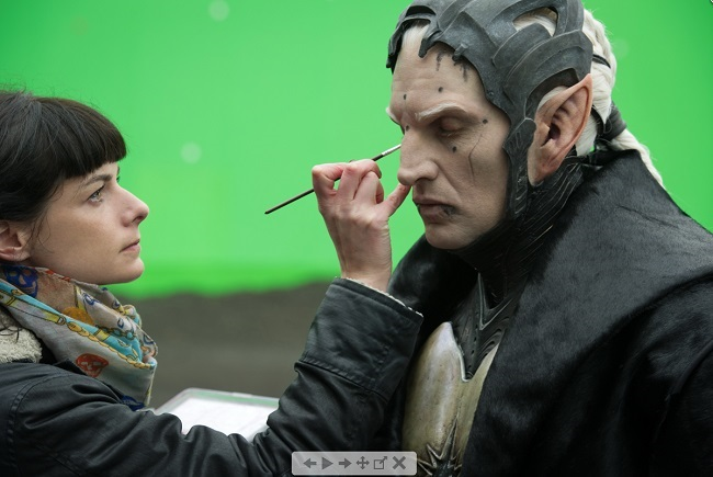 The long makeup hours for avengers