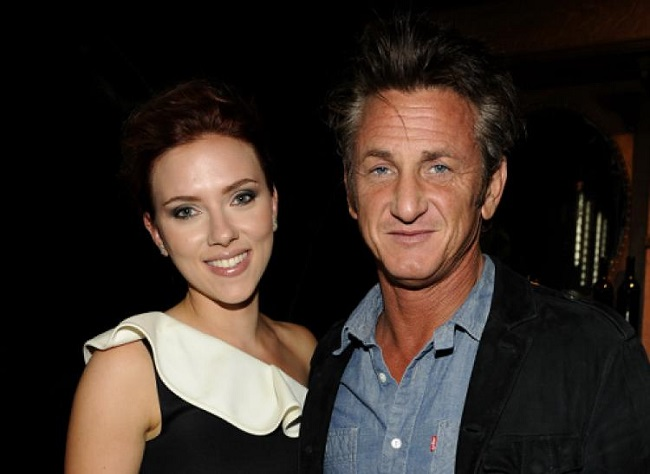 Why was she with Sean Penn