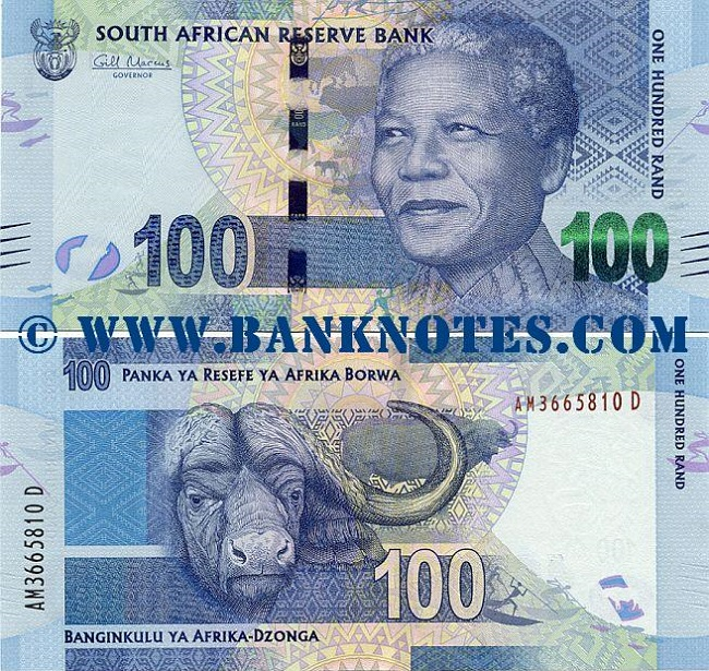 Rand – the currency of South Africa
