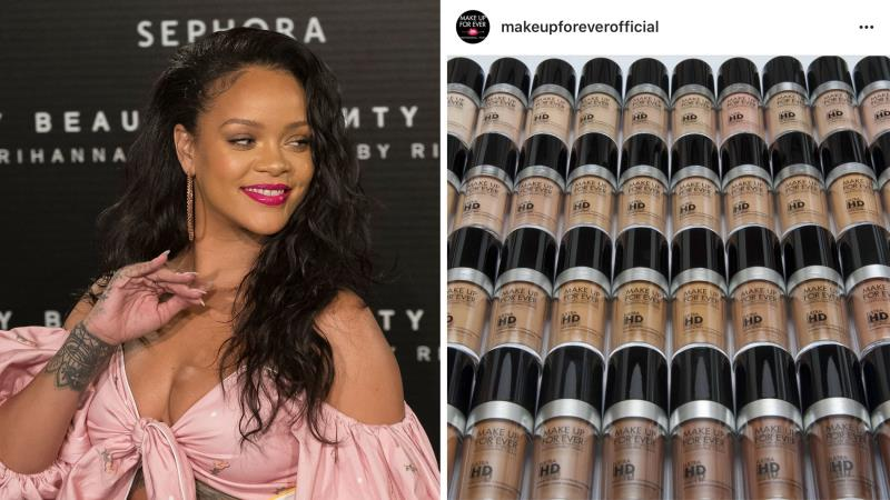Her Fenty Beauty line