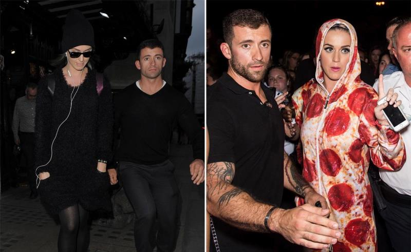 Katy Perry has a great bodyguard