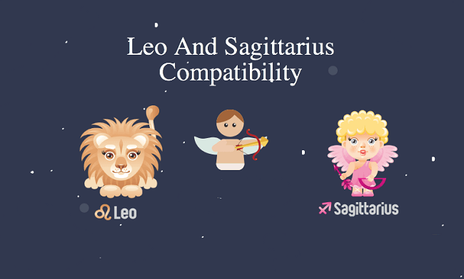Leo and Sagittarius
