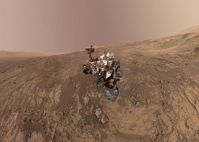 Selfie On Mars