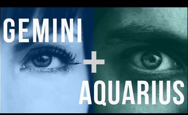 The Gemini and Aquarius connection