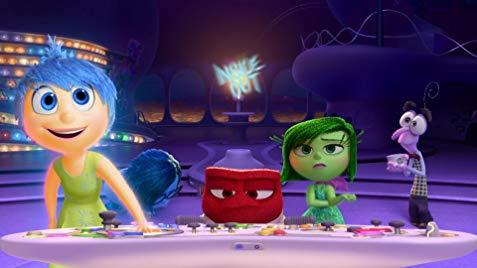 "Inside Out (2015). ""Don't be afraid of your emotions."""