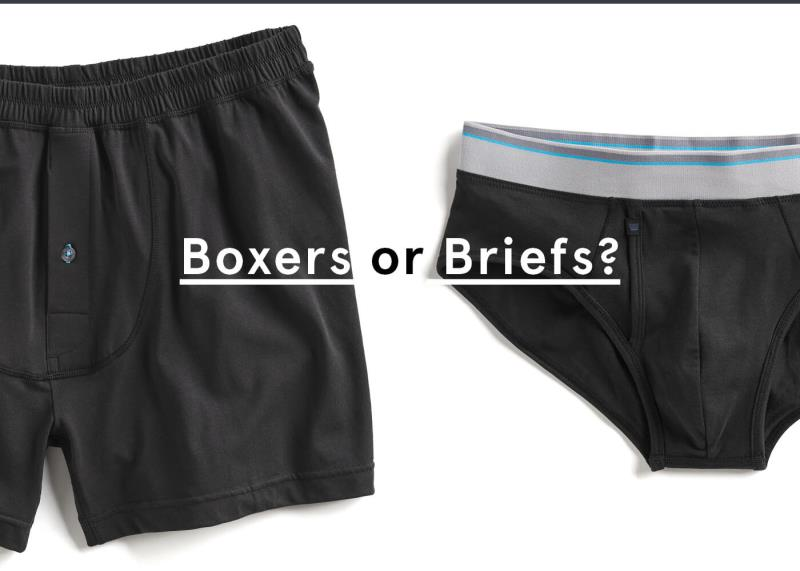 Boxers vs. Briefs: Which is the Better Option?
